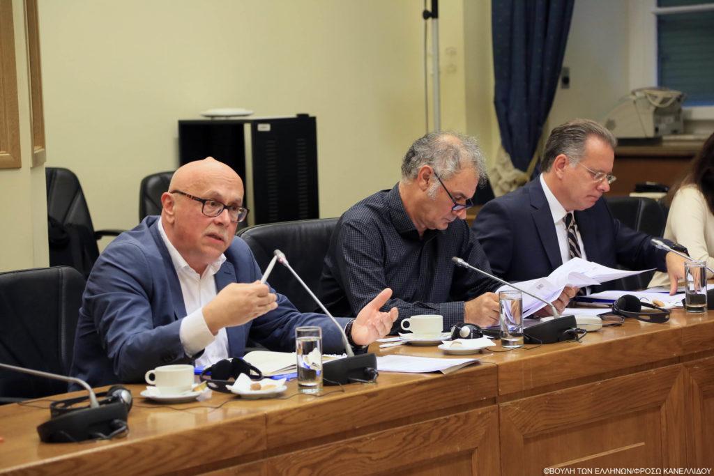 Συνάντηση των Προέδρων της Επιτροπής Άμυνας και Εξωτερικών Υποθέσεων και της Επιτροπής Μορφωτικών Υποθέσεων με κλιμάκιο της Πανελλήνιας Ένωσης Μεταφραστών